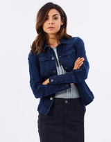 G Star Motac Deconst Slim Denim Jacket Women's