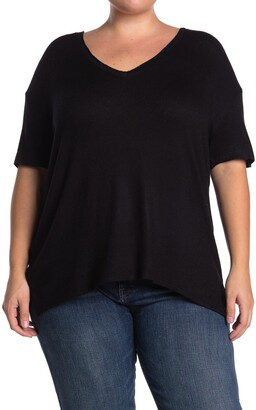 Caslon Cozy V-Neck T-Shirt