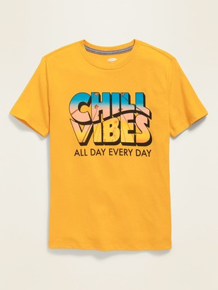 Old Navy Gender-Neutral Graphic Crew-Neck Tee for Kids