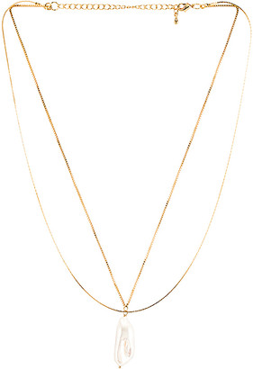 Five and Two jewelry Lynn Necklace