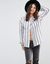 One Teaspoon One and Only Stripe Shirt