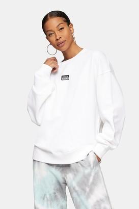 Topman Womens Berlin Sweatshirt In White - White