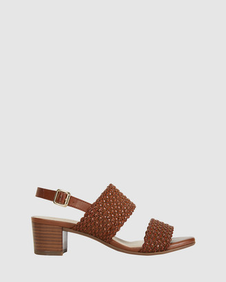 Easy Steps - Women's Brown Heeled Sandals - Vintage - Size One Size, 7 at The Iconic