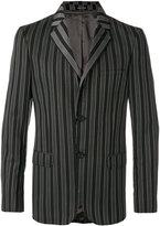 Alexander McQueen striped blazer