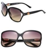 Gucci Oversized Plastic Sunglasses