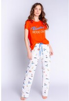 Thumbnail for your product : PJ Salvage Playful Prints Vacation Pant, Ivory Small