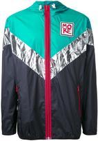 No.21 colour block jacket - men - Polyamide - S