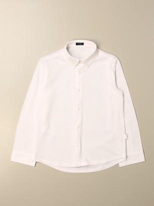 Il Gufo Basic Shirt With Button Down Collar
