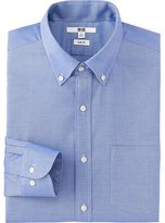Uniqlo Men Easy Care Slim Fit Oxford Long Sleeve Shirt