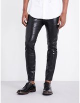 Dsquared2 Skater Lamina Waxed Skinny-fit Jeans