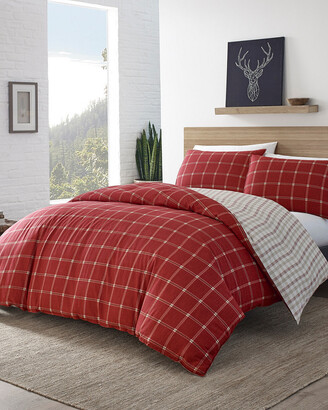 Eddie Bauer Corbett Plaid Duvet Cover Set