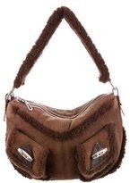 Marc Jacobs Shearling Shoulder Bag