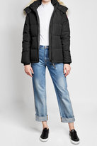 Canada Goose Down Parka with Fur-Trimmed Hood