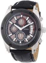 GUESS GUESS? Men's W16570G1 Leather Quartz Watch with Dial