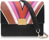 Emilio Pucci Stella Printed Eco Leather Shoulder Bag