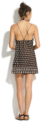 Madewell Paddleboard Mini Cover-Up in Moroccan Mix
