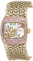 EOS New York Women's 95LGLDPNK Empress Swarovski Accent Watch
