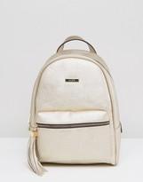 Aldo Acenaria Metallic Backpack