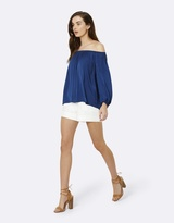 Forever New Avery Off Shoulder Long Sleeve Top