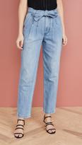 Rebecca Taylor Tie Waist Jeans