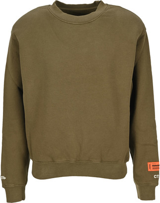 Heron Preston Padded Shoulder Sweatshirt