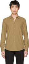 Our Legacy Tan Silk Classic Shirt