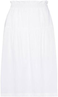 Araks Ulu mid-length skirt