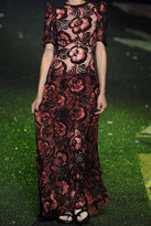 Marc Jacobs Sequin-embellished lace gown