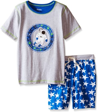 Hatley Boy's Astronauts In Space Tee & Shorts Set