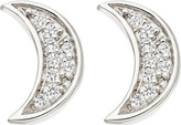 Astley Clarke Mini Moon stud earrings