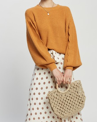 Tigerlily Hanami Scallop Knit