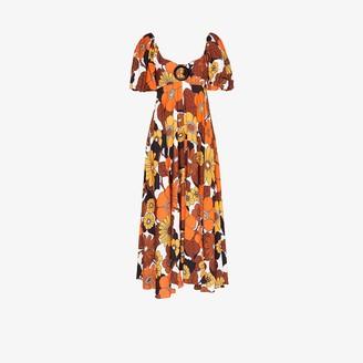 Dodo Bar Or Mor floral print midi dress