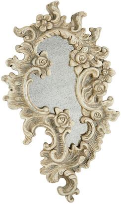 Uma Enterprises Antique Acanthus & Rose Decorative Wall Mirror