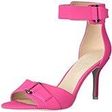 Nine West Women's Gainey Synthetic Heeled Sandal