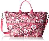 Vera Bradley Lighten Up Expandable Travel Carry On Bag