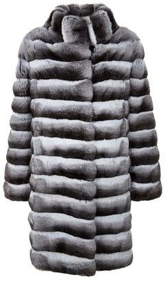 Harrods Long Chinchilla Coat
