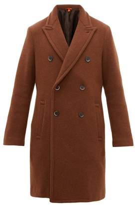 Barena Venezia - Double Breasted Wool Blend Coat - Mens - Brown