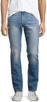 Frame L'Homme Distressed Skinny Jeans, Barkley