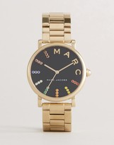 Marc Jacobs Classic Mj3567 Bracelet Watch In Gold