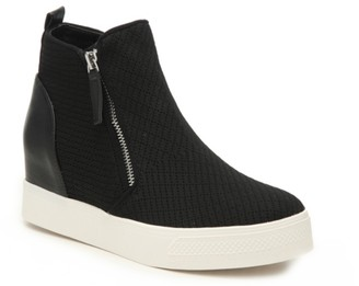 Steve Madden Loxley Wedge High-Top Sneaker