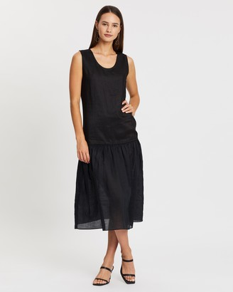 Joseph Nolen Ramie Voile Dress