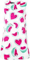 Love Moschino watermelon print dress - women - Cotton/Spandex/Elastane - 42