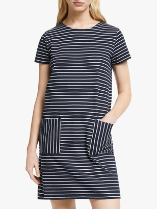 People Tree Phoebe Stripe Dress, Multi