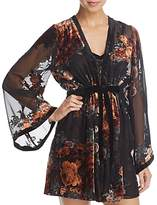 Flora Nikrooz Sylvie Velvet Cover-Up Robe