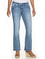 Apt. 9 Petite Modern Fit Embellished Bootcut Jeans