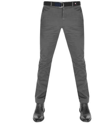 Tommy Hilfiger Denton Straight Fit Chinos Grey