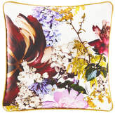 "Roberto Cavalli Floris Silk Pillow, 16""Sq."
