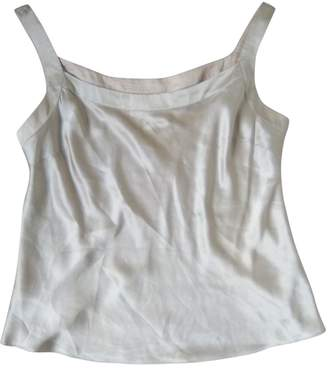 John Rocha Beige Silk Top for Women