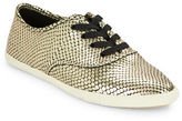 Marc Jacobs Carter Embossed Leather Sneakers