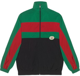 Gucci Oversize nylon jacket